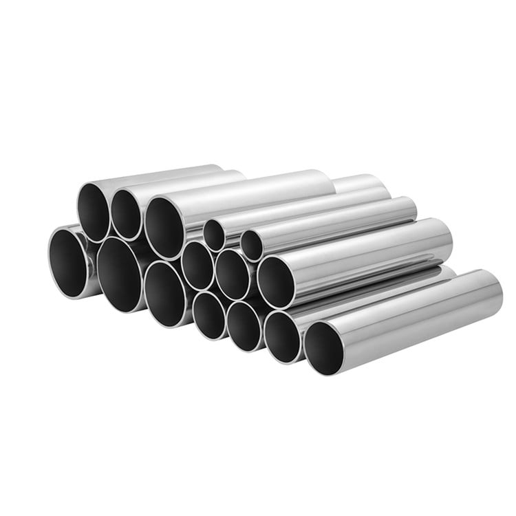 Mirror Polished Stainless Steel Round Pipes 304