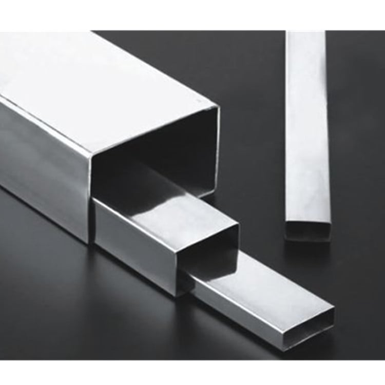 Stainless Steel Welded Rectangular Pipes 304 For Decoration