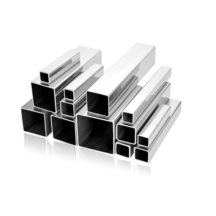 Stainless Steel Square Decorative Pipes 316L